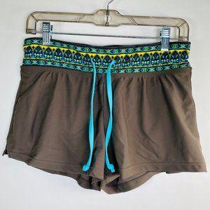 Athleta Swim/Board Shorts W/ Waist Tie Size Small